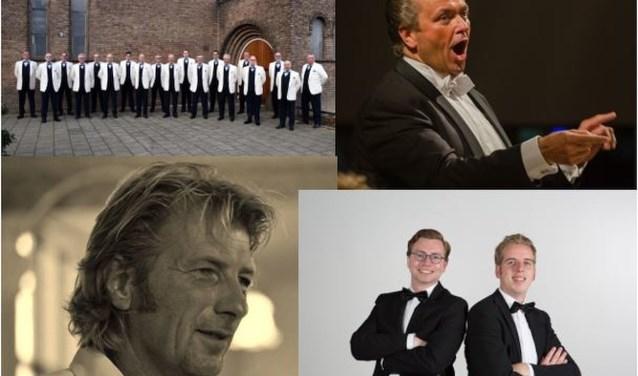 TMMF, Martin Mans, Peter Burger, Jan Rozendaal en Hugo van der Meij.