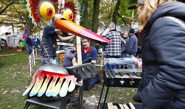 Het Vogelverschikker Festival in Valkenswaard vond om de twee jaar plaats.