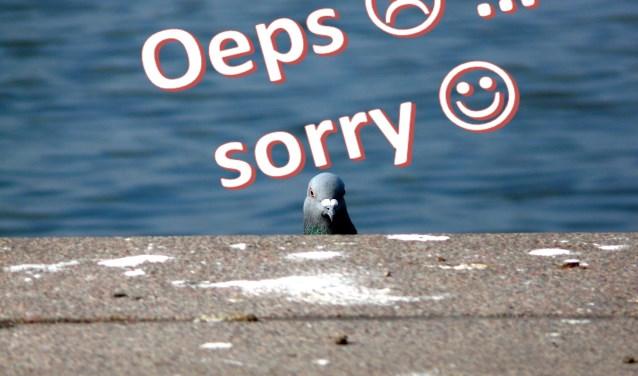 Het thema van de dienst is Sorry. (Foto: PR)