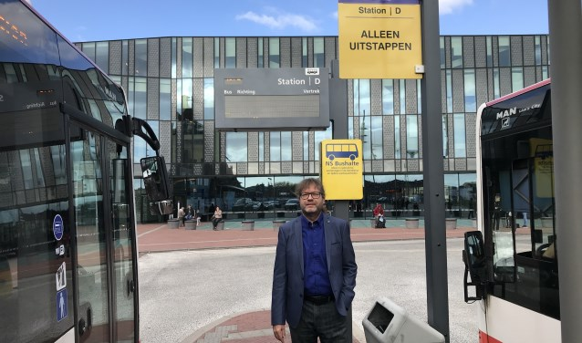 Roeland Beljon op Station Delft