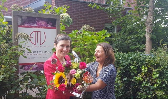 Eva-Maria Velmans (41) uit Breda is uitgeroepen tot Dr. Hauschka Therapeut van het jaar. FOTO: PR