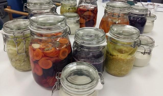 Praktijk GAIA bij Stadskwekerij Zaltbommel geeft op 13 oktober een workshop waarin je leert te fermenteren.