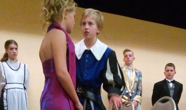 Foto uit een scene tijdens een oefenavond