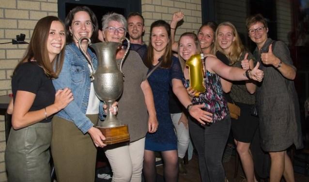 De winnaars van de Heistrijd in Vianen. (foto: eigen foto)