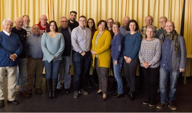 Leden en fractie van PRO Sliedrecht.