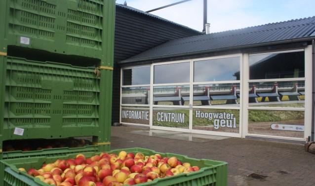 Zaterdag houdt De Nijensteen een oogstdag en is ook het informatiecentrum Hoogwatergeul al te bezichtigen.