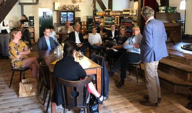 Tijdens de bijeenkomst 'Burgerparticipatie in de praktijk' ging de CDA fractie Waterschap Rivierenland zaterdag in Oud Vuren in gesprek met enkele vertegenwoordigers van de klankbordgroepen.
