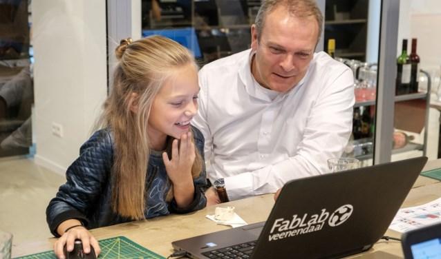 Linde met Klaas Mollema, directeur van Hillstar
