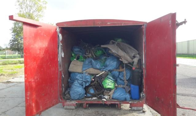 In deze editie van het Maas- en Waaljutten verzamelden150 vrijwilligers 2110 kilo afval.