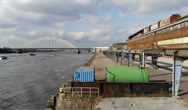 Het voormalige Nedstaalterrein in Alblasserdam krijgt weer toekomstperspectief. (Foto: pr)