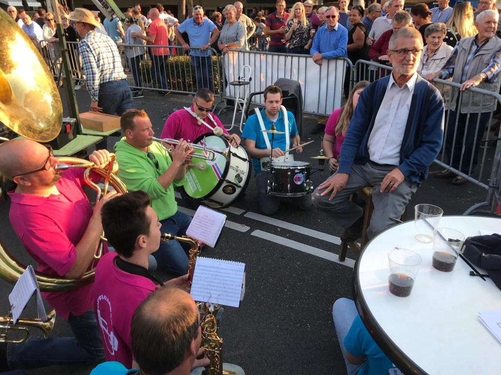 Koning Kermis Terborg 2018 serenade door de opbloasband Foto: Kermiscommisie Terborg © Persgroep