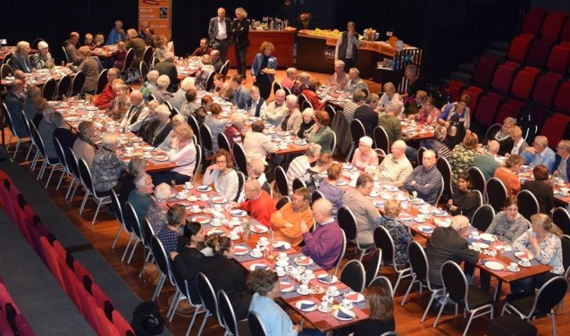 De drukbezochte Fairtradebrunch in Amphion in 2017