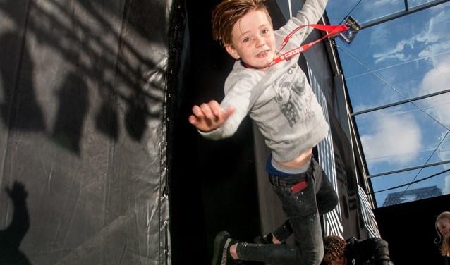 Kinderen genieten bij Cinekid