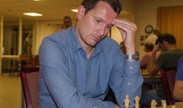 De veelgeplaagde teamleider van het eerste team, Joost Stoker. (Foto: Privé)