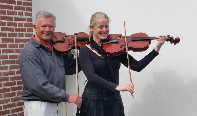 Marco Pagee samen met partner Michelle Urquhart