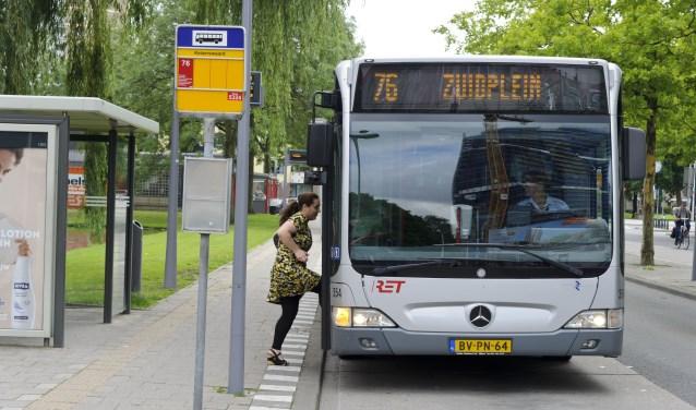 De RET wil met de flexibele bus inspelen op de behoefte van reizigers.