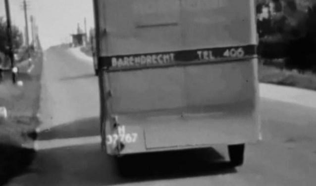 Het eerste transport van Hooimeijer in 1936. (Foto Bas Romeijn)