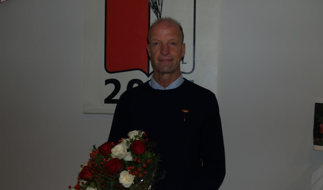 Ronald Linsen, het jongste erelid RKSV Driel