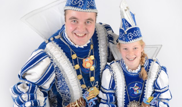 Jeugdprinses Lien 1e en Prins Wouter 1e