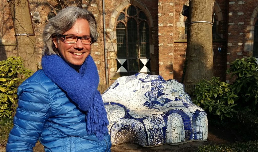 Pieter van Stein, initiator van de netwerkwandelingen bij stichting Kijk Haar! voor vrouwelijke werkzoekenden van 47+