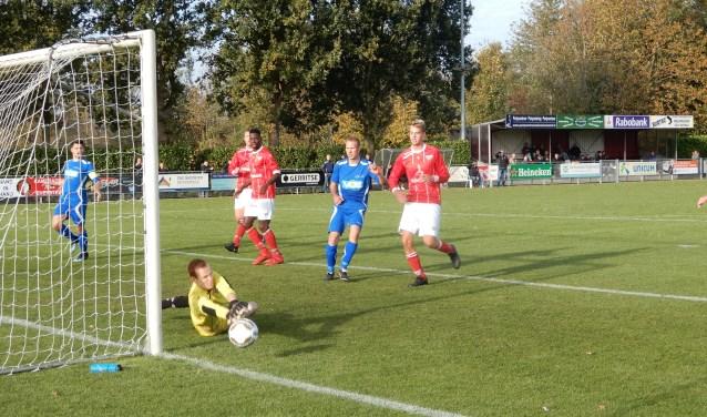 SV capelle heeft zaterdag in Everdingen gelijkgespeeld tegen FC Everstein.