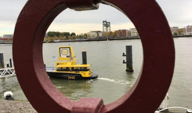 Hoe gaan we de rivier over/onder? (Foto: Aad Kranenburg)