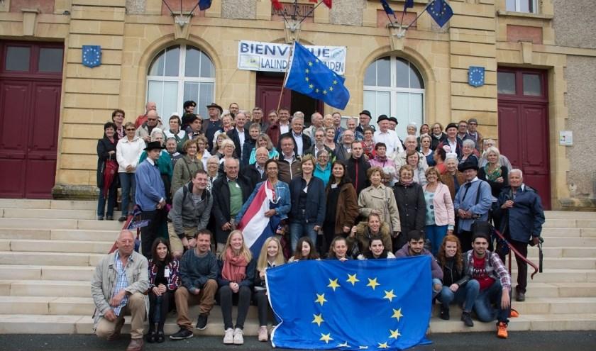 De Europa-dagen in de Franse plaats Lalinde. (foto: eigen foto)