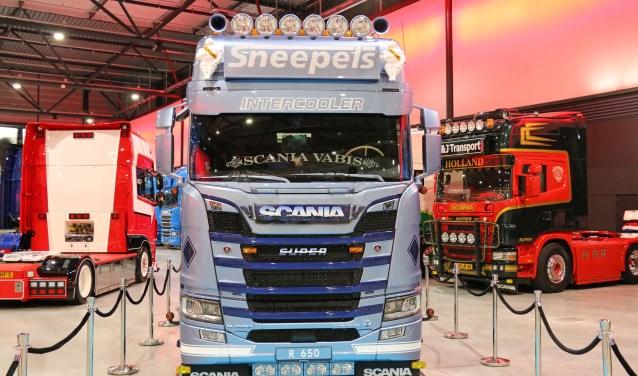 Ook deze 5e keer zijn er tijdens het Mega Trucks Festival in de Brabanthallen weer fraaie specials te bewonderen. FOTO: MEGA TRUCKS FESTIVAL
