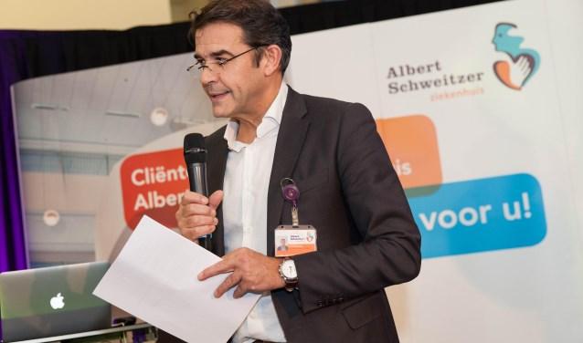 """ASz-directeur Peter van der Meer: """"Banken stellen steeds strengere eisen aan ons."""" (Foto Frederike Slieker)"""