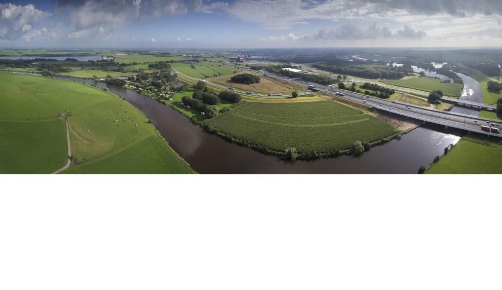 De Vecht heeft Zwolle veel rijkdom gebracht, doordat alles wat via de rivier vervoerd werd, via de stad  kwam.  Foto: Ben Vulkers/Cloudshots © Persgroep