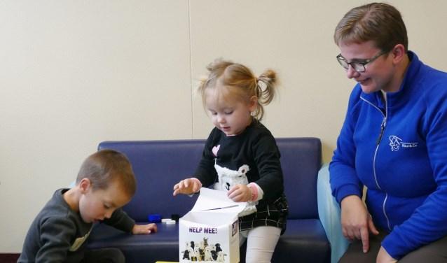 Kinderdagverblijf Kwibus in Maarssen zamelt doppen in voor KNGF Geleidehonden. Foto: Kinderdagverblijf Kwibus