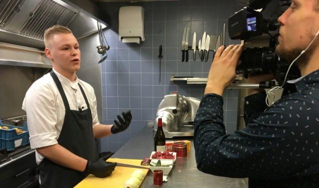 Chef-kok Dirk-jan van restaurant de Zaak geeft tips.