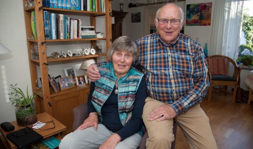 Vanaf hun trouwen zijn de heer en mevrouw De Wild altijd in Leusden-Zuid blijven wonen. (Foto: Ronald Kersten Fotografie)
