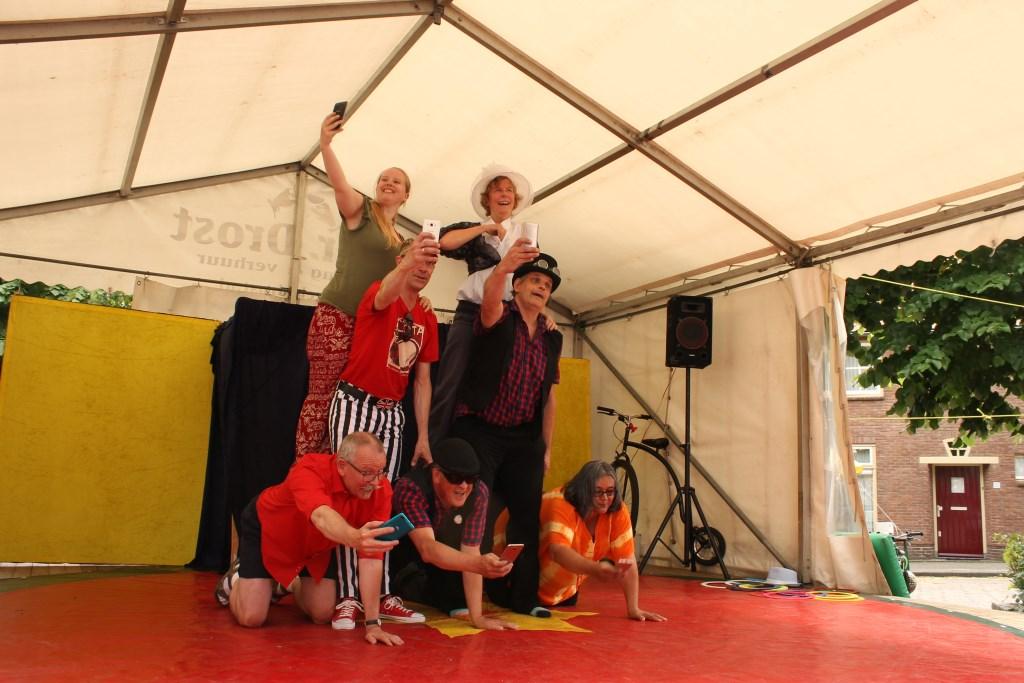 Volwassengroep Circus op de Utrechtse Heuvelrug Foto: Circus op de Utrechtse Heuvelrug © Persgroep