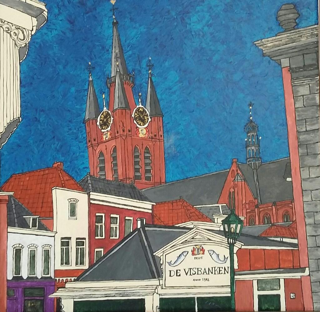 Delftse binnenstad 2 Foto: Arianne Kerkstra © Persgroep