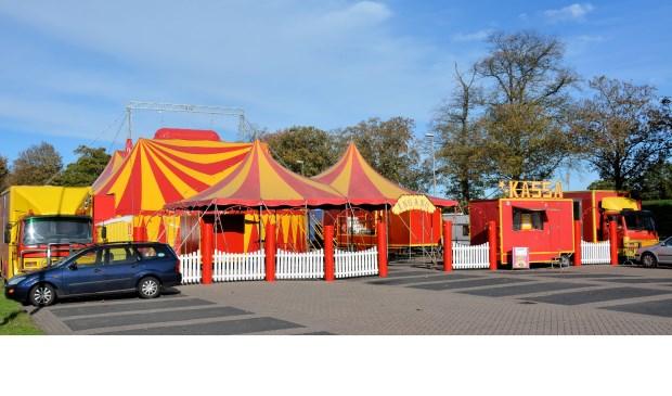 Circus Barani kreeg te elfder ure te horen dat het een andere plek toegewezen had gekregen. Eigen foto