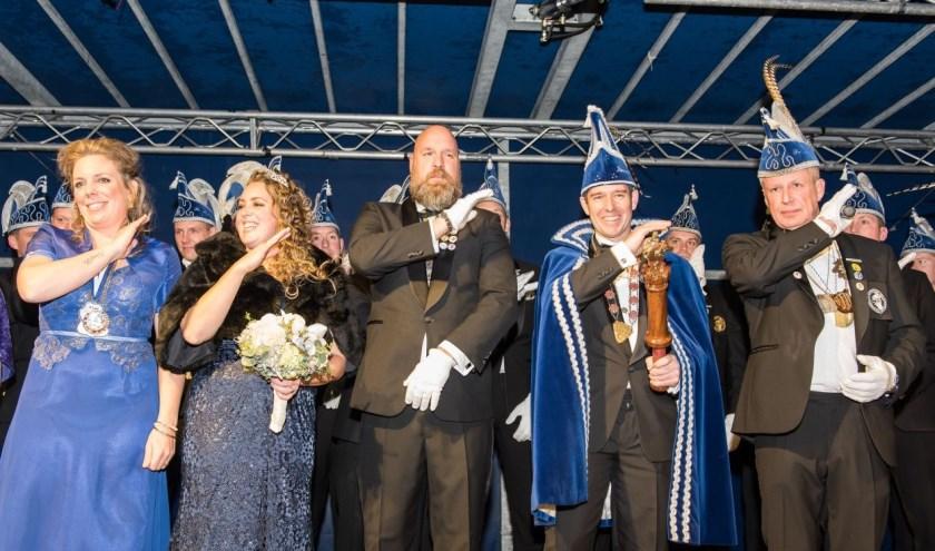 Voor Prins Frank I (Mentink) en Prinses Linda II (Casteel) komt op 11 november een eind aan hun regeerperiode.