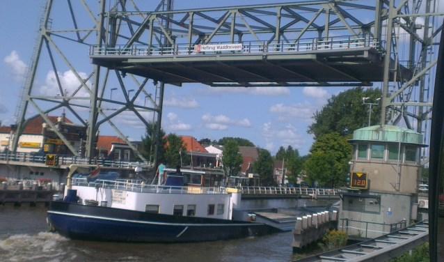 Hefbrug bij Waddinxveen.