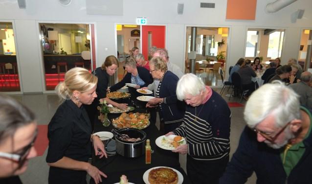 Broodmaaltijd door Brenda's catering uit Elst. (Tekst en foto's: Max Timons)