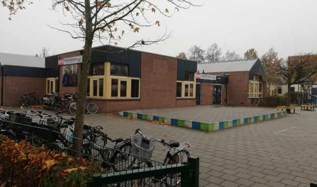 Het oude gebouw van de Jenaplan, waar kindcentrum WIJ nu nog gehuisvest is.
