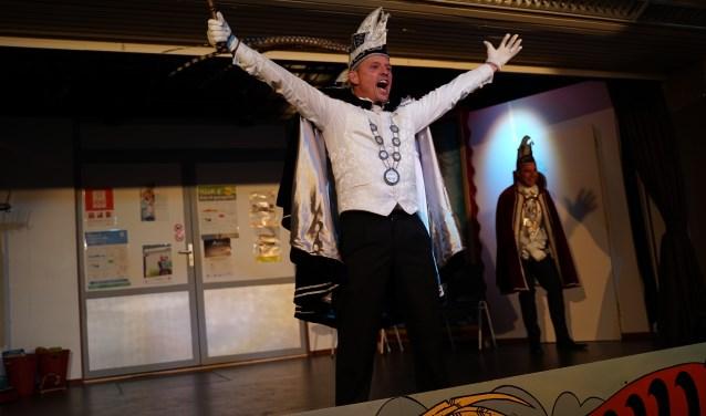 Prins John d'n Urste van De Leemknejèrs uit Oeffelt. (foto: Bart Coenen)