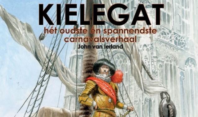 De prachtige illustraties in het boek 'Kielegat, het oudste en spannendste carnavalsverhaal' van auteur John van Ierland zijn van Jorg de Vos.