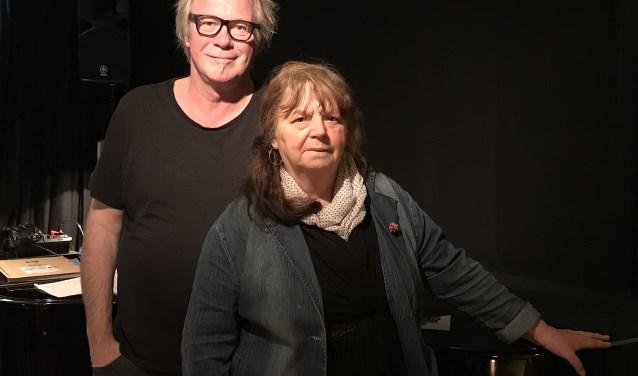 Guus Westdorp en Marian Ruijgers laten Delft zingen