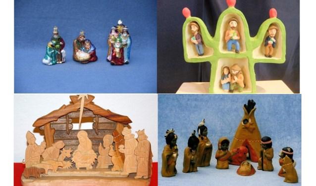 kerstgroepen van Ida en Pieter Diemer