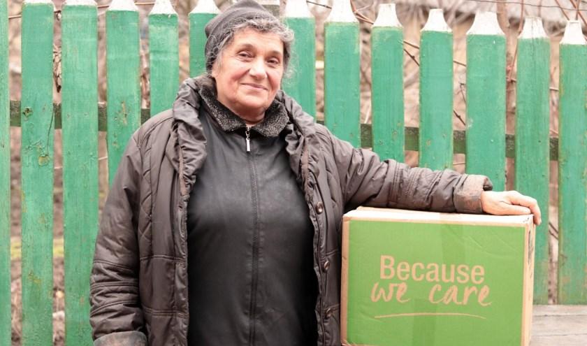 Met de voedselpakketten steunt Dorcas de allerarmsten in Albanië, Moldavië, Oekraïne en Roemenië.