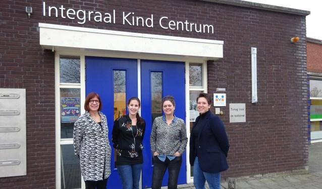 Van links naar rechts: Henny Scheffers, Melissa Groeneveld, Loes Ippel en Monique Zillig. (Foto: Eline Lohman)