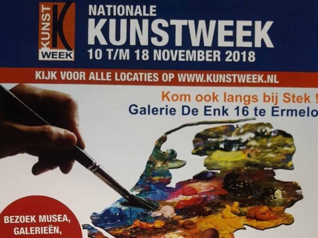 De halve Kunstweek Poster