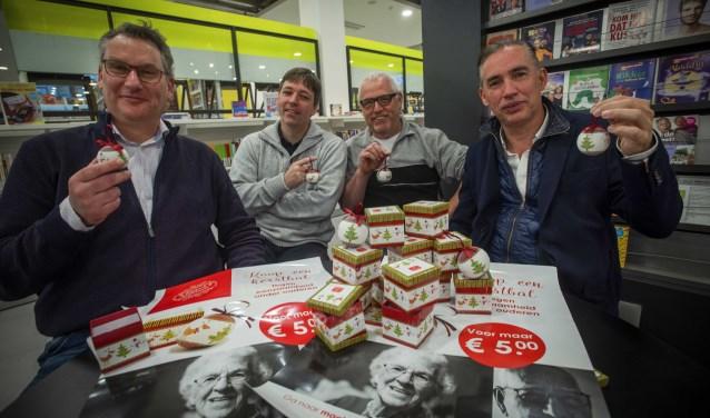Het bestuur van de Stichting Magisch Zoetermeer: Ruud Scholten, Mark Neijssel, Ron Verhaak en Mark Merkens. Foto: Ronald Stam