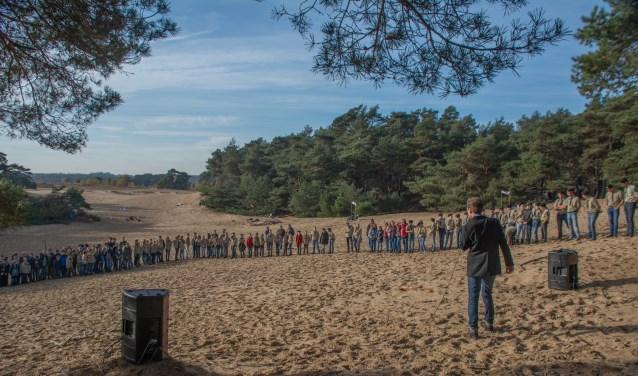 Opening herfstactiviteit scouting Wekeromse Zand