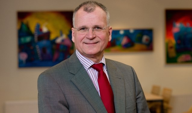 Henk Prins, de nieuwe voorzitter van Reliëf, de christelijke vereniging van zorgaanbieders.